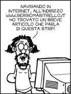 Una vignetta tratta dalla strip n°149 di nestore.splinder.com